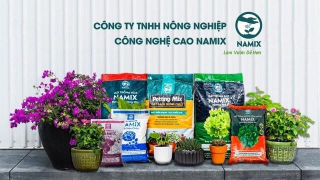 Namix là công ty chuyên cung cấp đất sạch sản xuất theo công nghệ cao