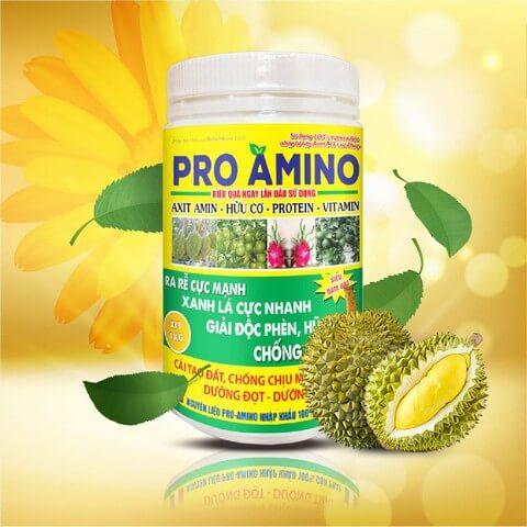 Phân bón lá Pro Amino thích hợp cho cây công nghiệp và cây ăn trái