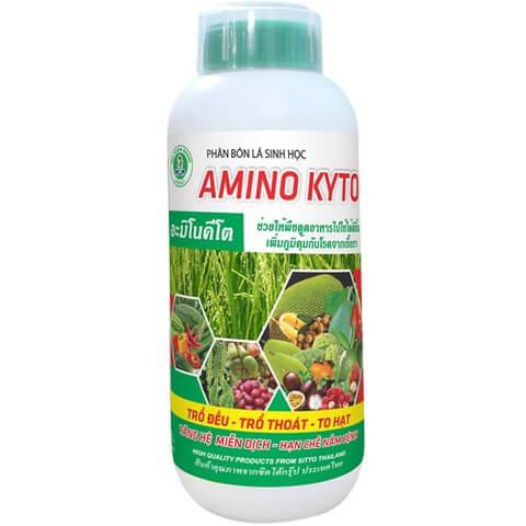 Phân bón lá Amino Kyto thích hợp dùng cho mọi loại cây trồng