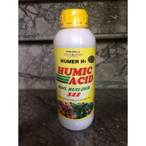 Phân bón lá Humic 322 là sản phẩm phổ biến chuyên giành cho lan