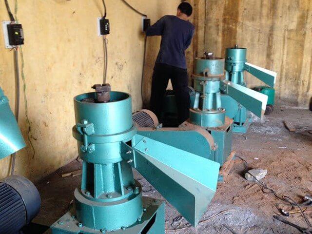 Than mùn cưa thành phẩm cần trải qua quy trình sản xuất có chọn lọc