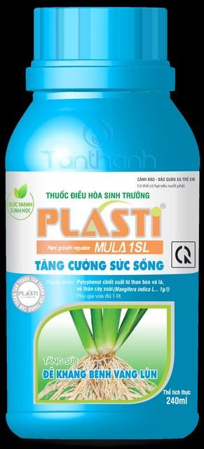 Phân bón lá Plasti đang là sản phẩm được nhiều bà con sử dụng cho lúa