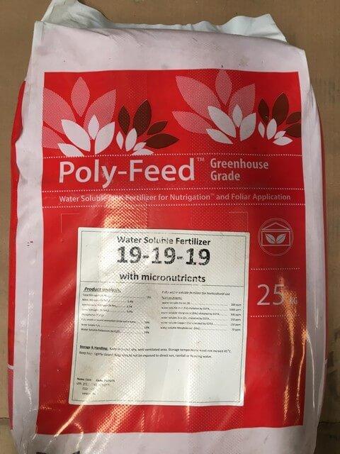 Phân bón lá Poly Feed 19-19-19 là sản phẩm cao cấp đến từ Israel