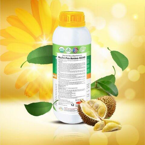 Phân bón lá Nutri Pro Amino 4500 bổ sung lượng lớn acid amin nuôi cây