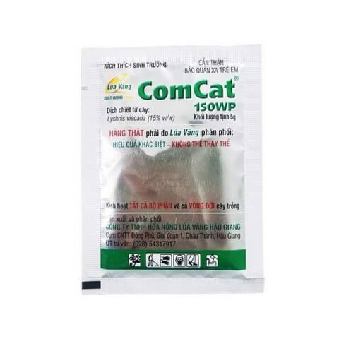 Phân bón lá Comcat có vai trò như thuốc kích thích – điều hòa sinh trưởng thực vật
