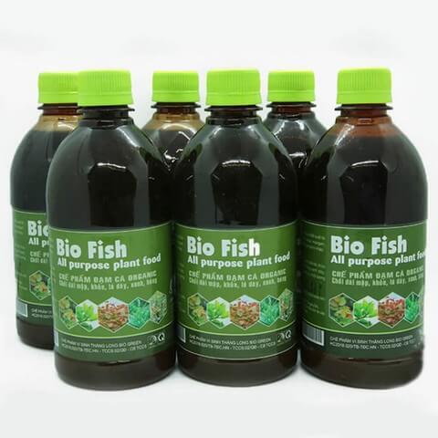 Phân bón lá đạm cá Bio Fish thích hợp cho hoa và cây cảnh