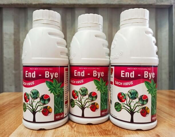 Phân bón lá End Bye được sản xuất theo công nghệ vi sinh Nhật Bản chất lượng, an toàn