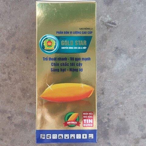 Phân bón lá Gold Star là sản phẩm phân bón vi lượng cao cấp
