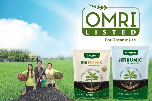 Phân bón lá Humic Hợp Trí thích hợp dùng cho lúa và rau màu