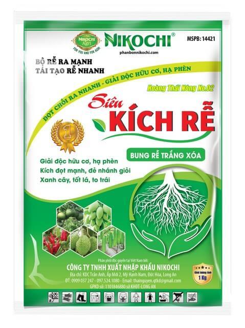 Phân bón lá Nikochi dễ sử dụng, cho hiệu quả rõ rệt nhanh chóng