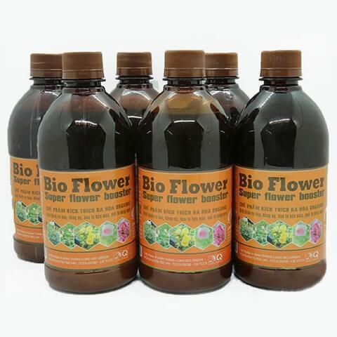 Bio Flower là sản phẩm phân bón lá vi sinh có nguồn gốc hữu cơ