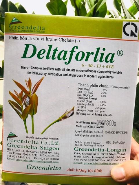 Phân bón lá Delta góp phần làm tăng năng suất, chất lượng mùa vụ