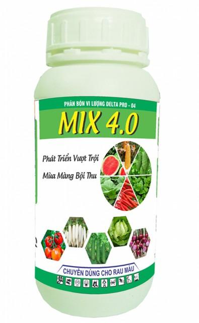 Phân bón lá vi lượng Delta – Pro 04 chuyên dùng cho rau màu