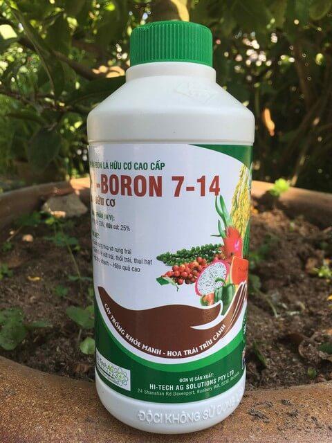 Phân bón lá Hi Boron có thực sự mang đến mùa màng bội thu