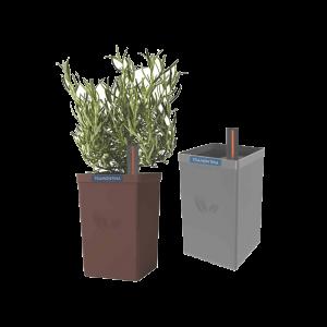 Chậu trồng cây tự tưới Tramontina 650ml